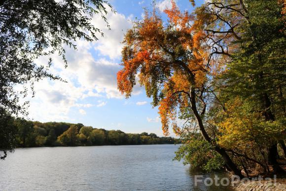 Październik nad Rusałką